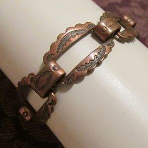 VTG Copper Tribal Bracelet
